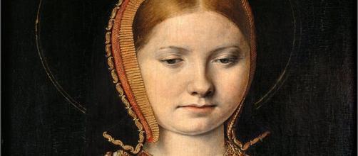 Retrato atribuido a Catalina de Aragón