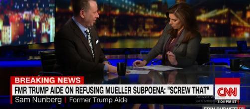 Sam Nunberg denies being drunk during interview. - [CNN Channel / YouTube screencap]