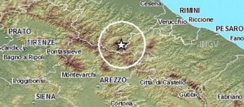 Scossa di terremoto nel Montefeltro