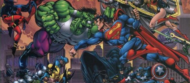 DC Vs Marvel. La eterna lucha.