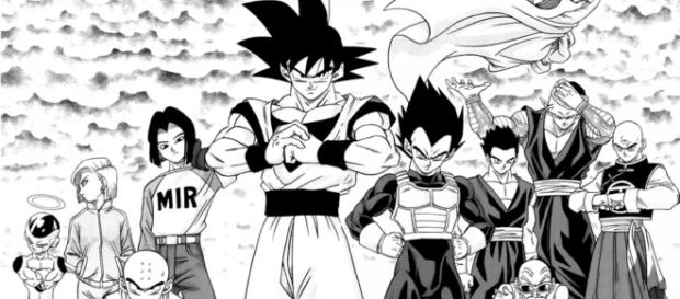 How did the 'Dragon Ball' Manga start?