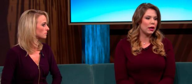 Leah Messer and Kailyn Lowry / Entertainment Tonight YouTube Channel