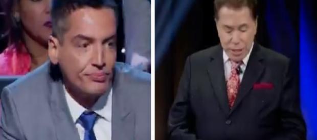 Leo Dias puxa orelha de Silvio Santos e o que diz deixa apresentador calado
