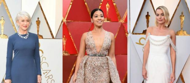 Mujeres en la alfombra roja de los Oscar 2018