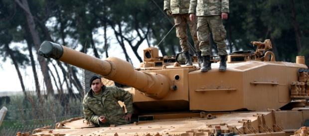 Tuecka armia coraz bliżej Afrin (fot. rmf24.pl)