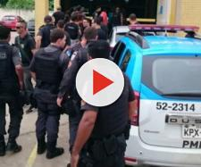 Um bandido acabou morto após tentar roubar um ônibus com um policial dentro