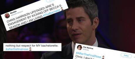 Arie Luyendyk takes the hot seat during the 'After the Final Rose' special. - [Images from Twitter]