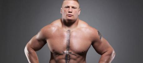 Brock Lesnar set to make his return on next week's Raw (Image via WWE/Youtube screencap)