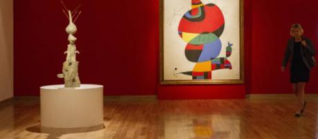 La influencia del arte japonés en la pintura de Miró es patente desde sus primeras obras