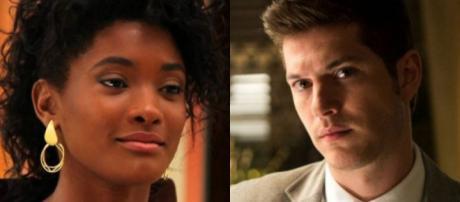 O Outro Lado do Paraíso: Bruno procura Raquel, mas ela corta qualquer relação com ele e depois se arrepende
