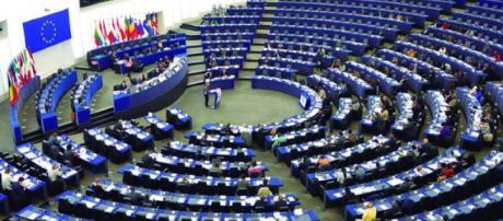 Parlamento Europeo durante una seduta