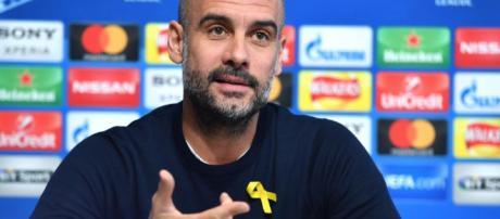 Pep Guardiola planea usar la cinta durante el partido del miércoles contra Basilea