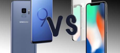 Samsung Galaxy S9 vs Apple iPhone X: Clash of the titans - Pocket-lint - pocket-lint.com