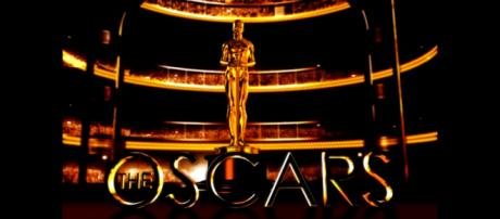 The logo of the Academy Awards or Oscars. [Image via MFIist/YouTube screencap]