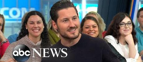 "Valentin Chmerkovskiy promotes book on ""Good Morning America"" [Image: Good Morning America screenshot]"