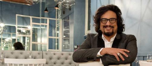 Alessandro Borghese, conduttore del programma '4 Ristoranti'