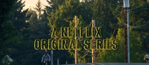 A Netflix original series. - [Netflix / YouTube screencap]