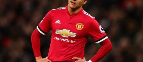 Alexis Sanchez en el Manchester United