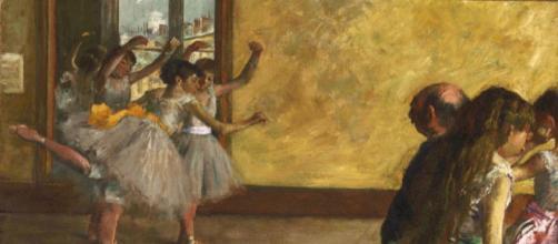 Edgar Degas, La classe di danza, Philadelphia Museum of Art