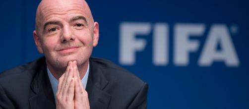 El presidente de la FIFA Gianni Infantino cree que el uso de VAR es 'bueno