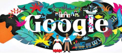 Gabriel García Márquez, protagonista del doodle de Google