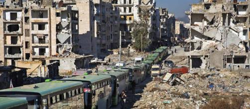 Guerra está devastando a Síria