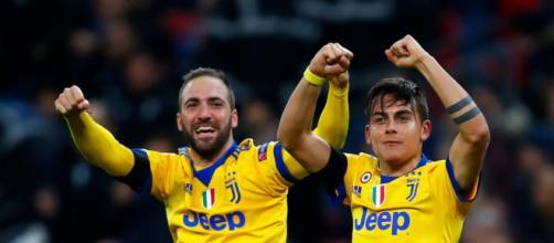 Higuaín y Dybala fueron las claves de la pegada de la Vecchia Signora