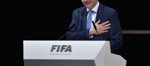 """Infantino, calificó el fracaso de Italia para clasificarse para la Copa Mundial de 2018 como """"un golpe hermoso"""""""
