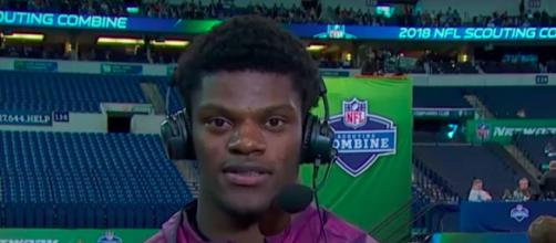 Lamar Jackson is a polarizing NFL prospect. -- [YouTube/NFL Network Channel]