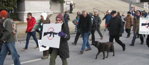 March on Washington for gun control, image by Slowking4 via Wikimedia
