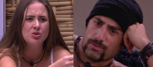 Patrícia e Kaysar discutem no BBB18