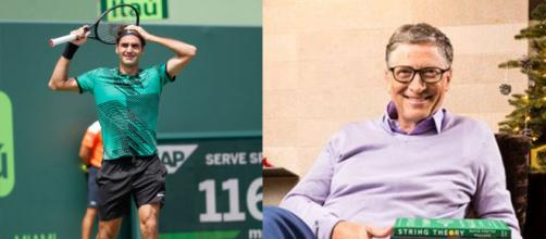 Periódico am | ¡Cuidado Wawrinka! Federer jugará dobles con Bill Gates - com.mx