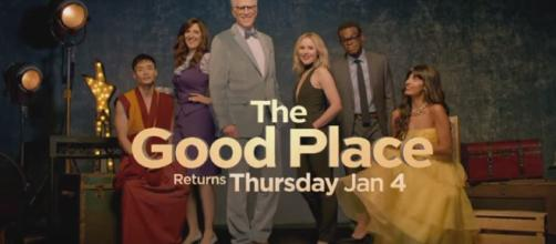 """The Good Place 2x09 Promo """"Leap To Faith"""" (HD) - Image credit - TV Promo 