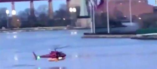 Tragedia a New York, precipita elicottero.