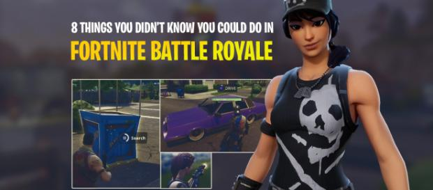 "8 things you didn't know you could do in ""Fortnite Battle Royale."" Image Credit: Own work"