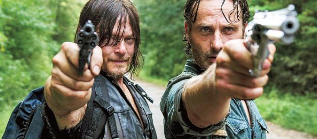 Daryl e Rick di The Walking Dead