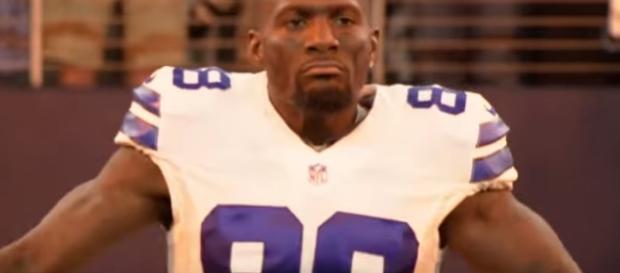 Dez Bryant in action. - [Dallas Cowboys / YouTube screencap]