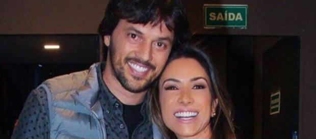 Fábio Faria é casado com Patrícia Abravanel