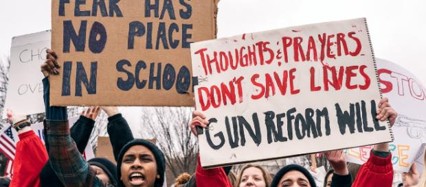 High School students demand more gun reforms -- Lorie Shaull via wikimedia