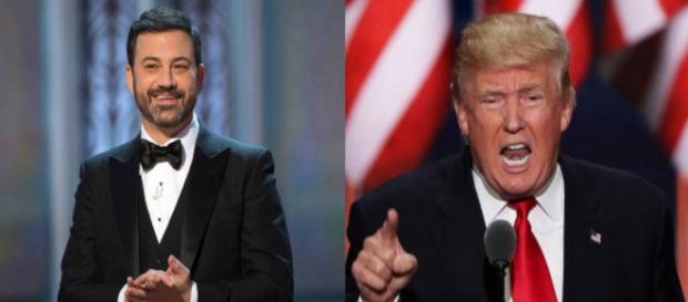 Jimmy Kimmel, Donald Trump, via Twitter