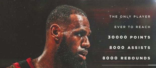 Lebron James récordman de profesión