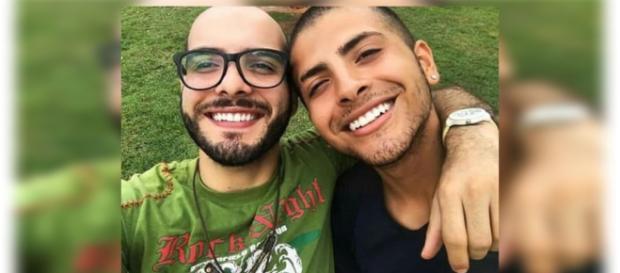 Mahmoud contou sobre um antigo relacionamento e causou polêmica. (foto reprodução).