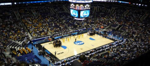 March madness is the biggest event in men's college basketball. Image retrieved from Wikimedia Commons.