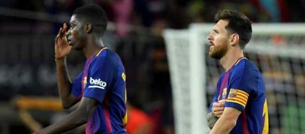 Ousmane Dembelé chegou em Barcelona no início da temporada