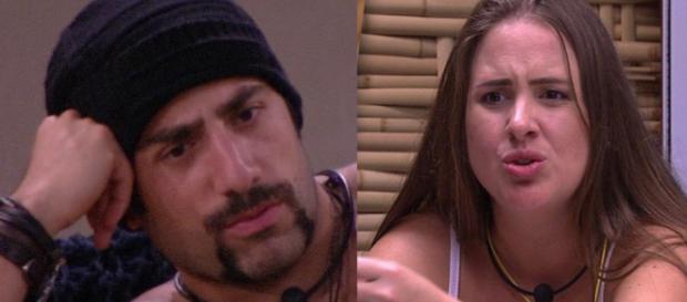 Patrícia e Kaysar esquentam edredom e internautas acusam sister de assédio