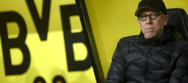 Peter Stöger ha criticado la falta de combatividad de los jugadores del Borussia Dortmund en los últimos partidos