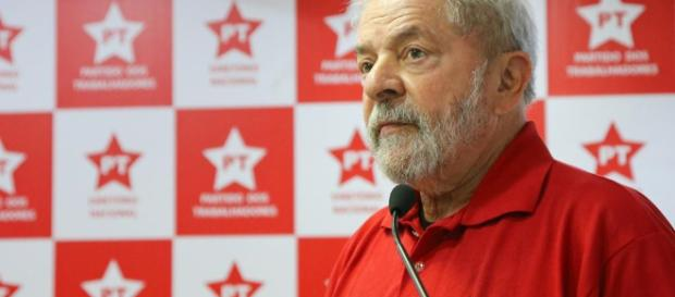 Lula, ex-presidente da república. (foto reprodução).