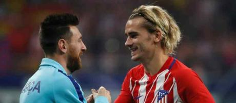 Griezmann advierte a Messi sobre las negociaciones con el Real