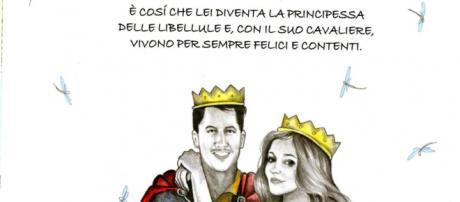 """""""Il cavaliere e la principessa"""" illustrazioni di Roberta Gattel"""