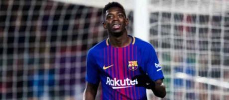 Ousmane Dembelé é reforço no Barcelona